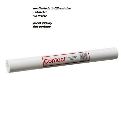 Contact Clear Book Covering S/Adhesive 10m x 450mm  / 15m x 450mm - 50 Micron