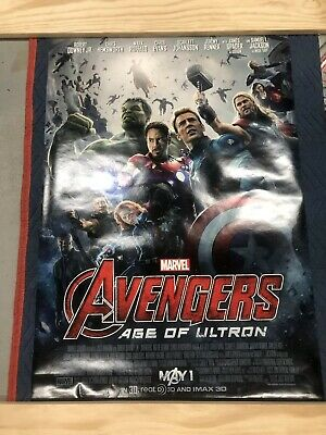 AVENGERS AGE Of ULTRON Movie Poster Original DS 27x40 2 sided Marvel