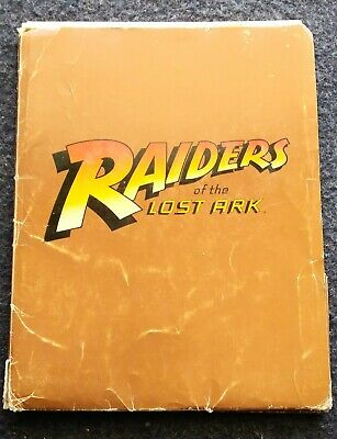 Indiana Jones and the Raiders of the lost Ark Press Kit Rare Paramount 1981