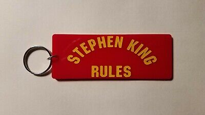 Monster Squad Stephen King Rules inspired keychain key chain
