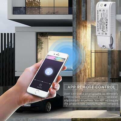 300W 110-240V HOME Smart WIFI Dimmer Switch Voice Control Light Switch  Smartlife