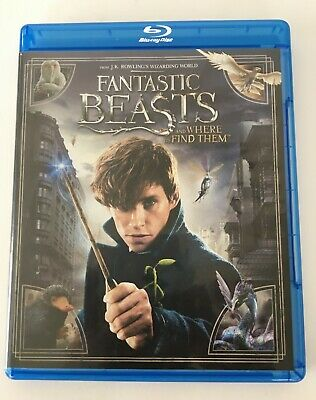 FANTASTIC BEASTS And Where To Find Them (Blu-Ray  Disc 2017 ) FREE US SHIPPING!