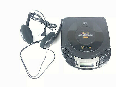 GPX CD Player - Model C3914 Combat Disc Player