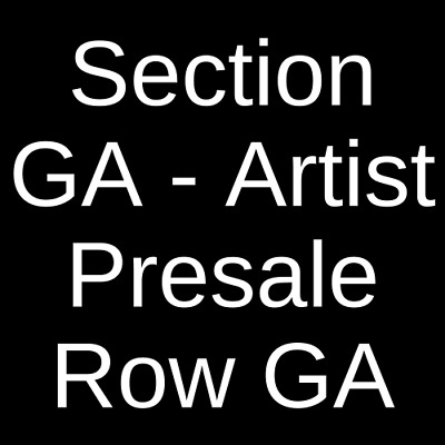 2 Tickets Death Cab For Cutie 8/10/19 The Observatory - North Park San Diego, CA