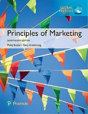 NEW - FAST to AUS - Principles of Marketing by Kotler, Armstrong (17 Ed)