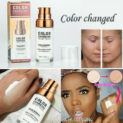 30ML Pro Classic TLM Colour Changing Foundation Magic Flawless Concealer Makeup