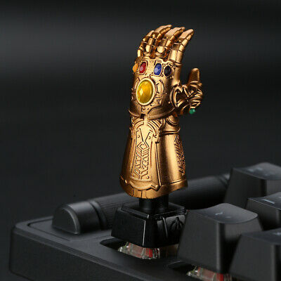 Avengers Thanos Infinity Gauntlet Keycap Creative Metal Mechanical Key Cap Gift