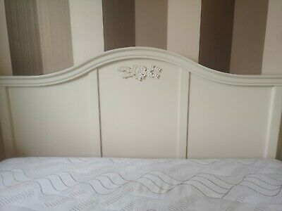King Size Cream Wooden Bed frame from Next