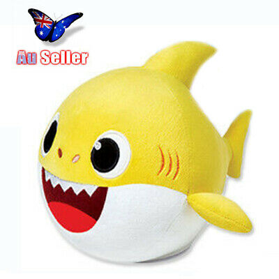 2019 Baby Shark Plush Singing Toys Music Doll Song Moving Dancing Toy Gift AU