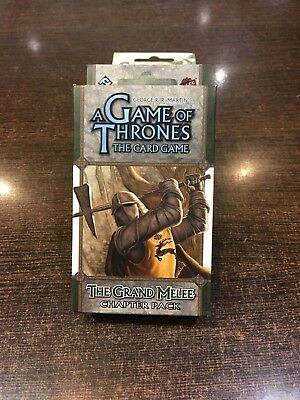 A Game of Thrones THE GRAND MELEE Chapter pack Fantasy flight LCG