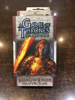 A Game of Thrones RITUALS OF R'HLLOR Chapter pack Fantasy flight LCG