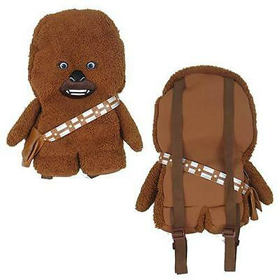 Star Wars - Chewbacca Plush Shaped Backpack / Rucksack New & Official Lucasfilm
