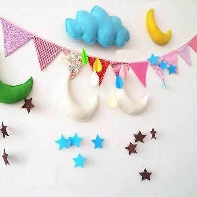 Kids Toy Raining Clouds Water Drop Baby Home Tent Props Decor Bed Hanging Toys