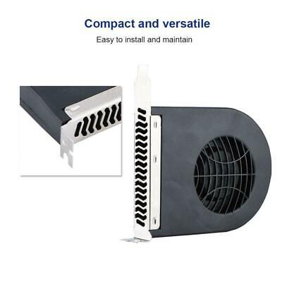 12V 4Pin 2.6W PCI Slot Blower Cooling Fan for Computer Case CPU Cooler Radiator
