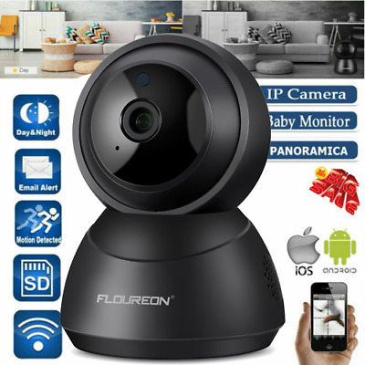 Wireless 1080P 360° Baby Monitor Mic Home Security CCTV IP Camera WiFi Network