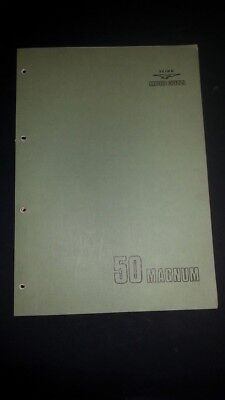 Moto Guzzi MAGNUM 50 1976 catalogo ricambi ORIGINALE spare parts catalogue