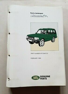 Land Rover Discovery 1996 Catalogo Ricambi originale auto spare parts catalogue
