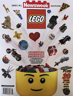 Newsweek Special Edition 2019 Lego Magazine + 20 Years Of Star Wars Brand New