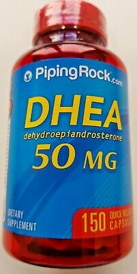 PIPING ROCK- DHEA-50 Mg-150 Caplets - Ebay best Prices