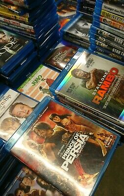 Lot 50 Blu-Ray Movies Comedy Horror Disney Kids Action Marvel Dc