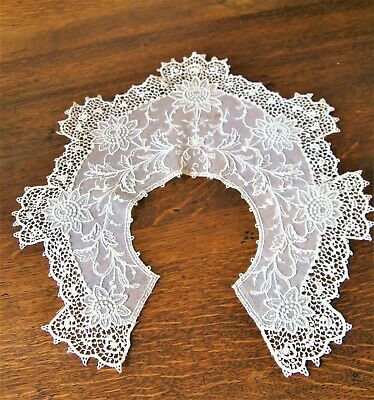 Antique Vintage Hand Made Lace Collar