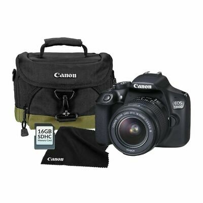 Canon EOS 1300D DSLR Camera with 18-55mm EF III Lens - Cannon Bag - 16GB SD Card