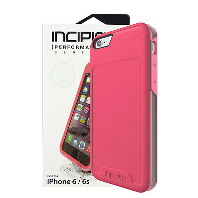 Incipio Performance Level 5 Phone Case for Apple iPhone 6 / 6s - Pink Coral Grey