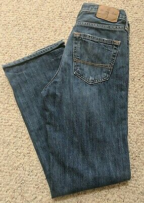 Boy's SZ 12 Slim Abercrombie & Fitch Jeans!! Kilburn~Low~Rise Boot!! EUC