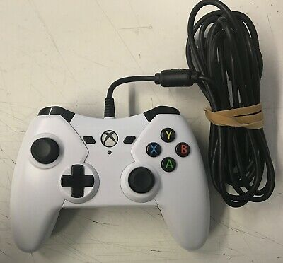 POWER A Wired Controller - White - Microsoft Xbox One-Preowned Free UK P&P
