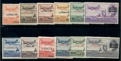 EGYPT #NC13-24, Complete set, og, LH, VF, Scott $204.10
