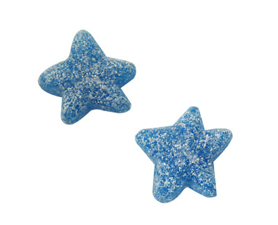 Sour Blue Stars 1Kg Retro Bag Of Fizzy Jelly Sweets Pick N Mix
