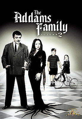 The Addams Family - Volume 2 (DVD, 2007, 3-Disc Set, Dual Side)