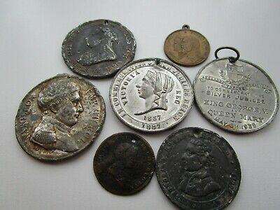 Commemorative Medals In Used Condition