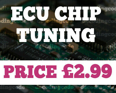 ECU Chip Tuning Files 100,000+ Remap Database + software - Instant Delivery