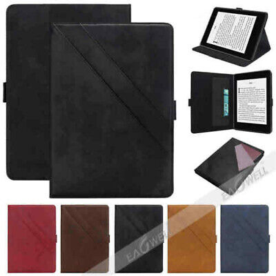 For Amazon Kindle Paperwhite 4 10th Gen 2018 Wallet PU Leather Smart Cover Case