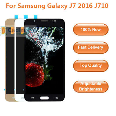 OLED Screen For Samsung Galaxy J7 2016 J710F FN M LCD Display Touch Digitizer AA