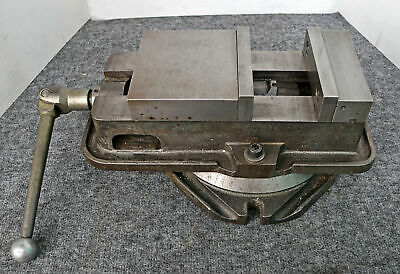 "Kurt 6"" Anglock Milling Vise with Swivel Base, D60"