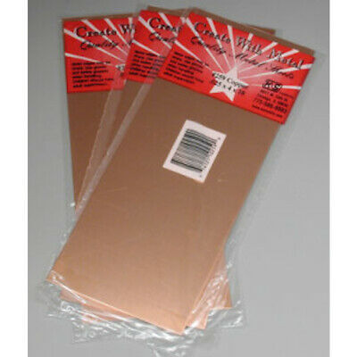 """NEW 1pc 0.025/"""" Thick x 4/"""" Wide x 10/"""" Long Copper Sheet K /& S #259"""