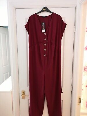 Size 12 Burgundy Maternity Jumpsuit new with tags