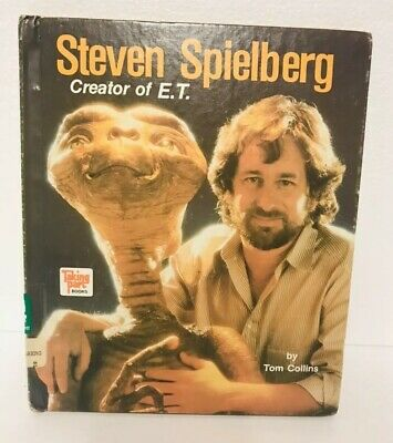 Steven Spielberg Creator of E. T. Movie Collins, Tom Hardcover Book