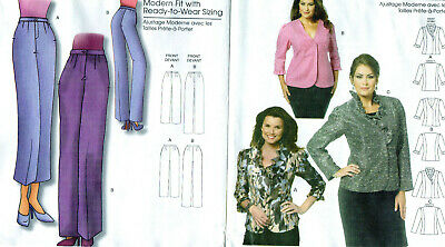 26d471c3029 2 Butterick 5720 & 5222 Connie Crawford Dressy Jacket & Pants Patterns ...