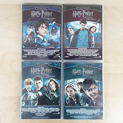 8 x HARRY POTTER COMPLETE SET YEARS 1-7 DVD FILM MOVIE COLLECTION BUNDLE