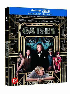 Gatsby le magnifique - Combo Blu-ray 3D + Blu-ray neuf sous blister