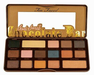 Chocolate Eyeshadow Palettes