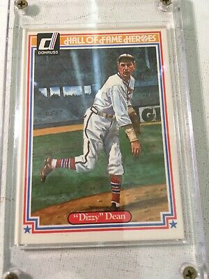1983 Donruss Hall Of Fame Heroes #29 Dizzy Dean