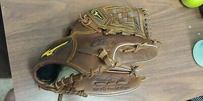 """Mizuno Classic Pro Soft Pitcher Baseball Glove 12"""" Right-Handed Thrower"""