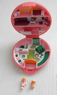 Vintage Polly Pocket Buttons Animal Hospital  Buttons Cat 1989