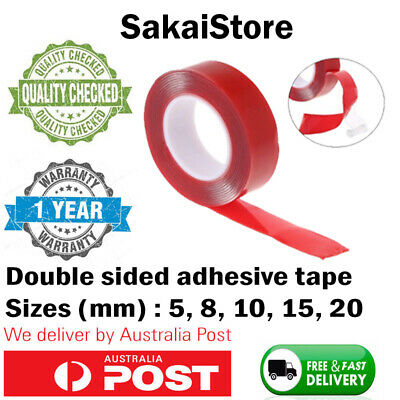3 Metres High Strength Double sided Clear Acrylic Adhesive Tape