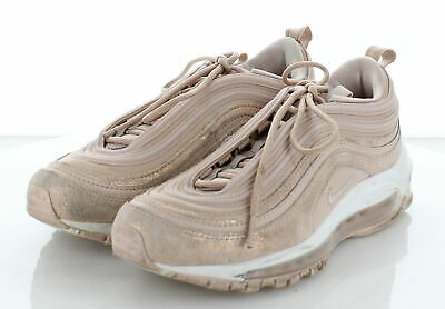 competitive price ca321 c4fe3 30-57 NIKE AIR Max 97 White/Rose Gold Leather/Textile Casual Shoe Women's  6.5 M