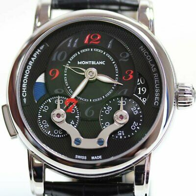 f213f5f56dfd6a Mont Blanc Nicola Rieussec Chronograph 108791 Japan Limited To 77 Herren
